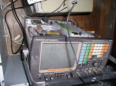 Marconi 2955r Model Radio Service Monitor Test Set Parts Unit