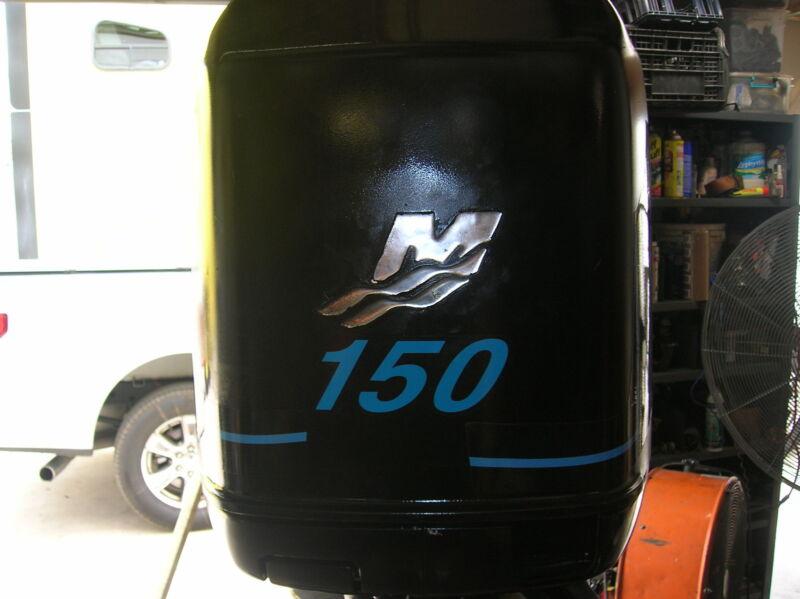 """Mercury 150 Hp Outboard Motor 25"""" 2003"""