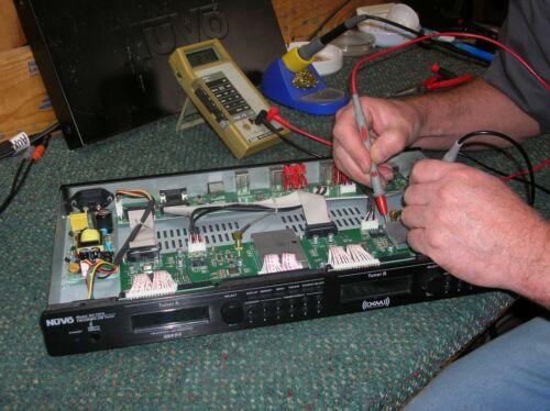 "NuVo Model NV-T2FX Repair Service ""No Power"""