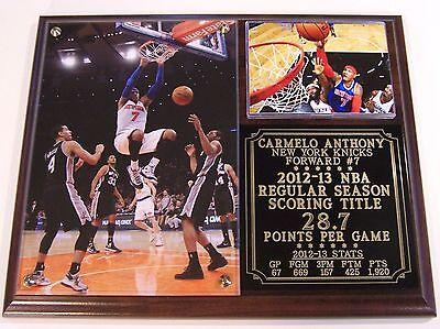 Carmelo Anthony #7 NBA Scoring Title New York Knicks Photo (Carmelo Anthony Photo)