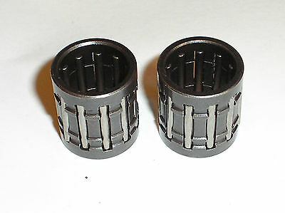 LITTLE SMALL END PISTON PIN WRIST PIN BEARING (2) SUZUKI GT250 GT250X7 NEW PB21