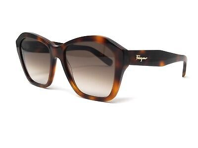 Salvatore Ferragamo Sunglasses SF894S 214 Tortoise Rectangle Women's (Ferragamo Sunglasses Womens)
