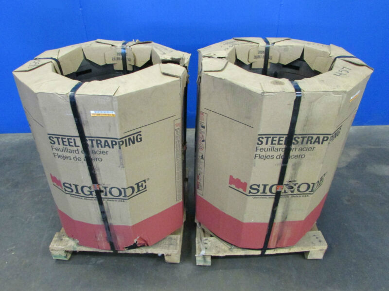 "SIGNODE STEEL STRAPPING 5/8"" X .020""~ONTARIO, CALIF."