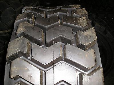 4- Tires 33x15.50-16.5 Lifemaster Skz Skid-steer Loader 14pr Tire 331550165
