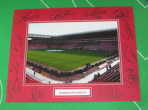 Sunderland-AFC-Stadium-of-Light-Photo-Mount-Multi-Signed-11-2012-13-Squad