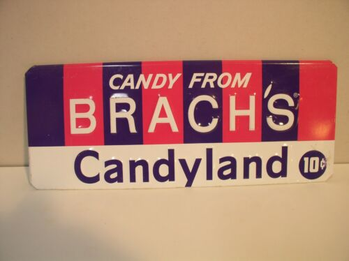 Brachs Candy Candyland Store Metal Sign