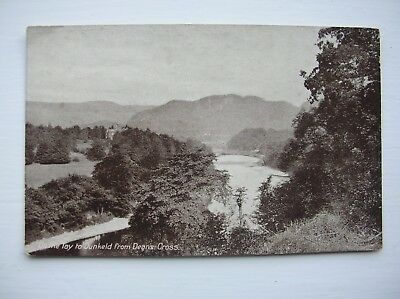Dunkeld - River Tay from Deans Cross. (Nr Aberfeldy, Pitlochry, Blairgowrie etc)