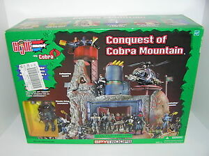 GI Joe vs Cobra Conquest of Cobra Mountain w/ Shipwreck Spy Troops Hasbro Sealed