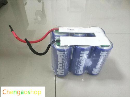 Maxwell 2.7V 3000F Supercapacitor Ultra Capacitor 3000f Farads BCAP3000 #912 ZX
