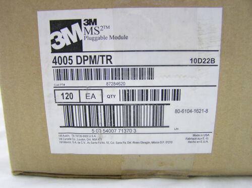 4005-DPM/TR 3M SUPER MATE PLUGGABLE DRY CONNECTOR MODULE-CASE 120