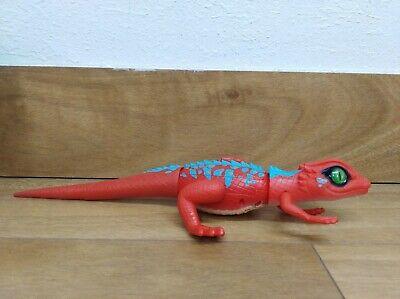 Zuru Robo Alive Lurking Lizard Red Robotic Toy Pet
