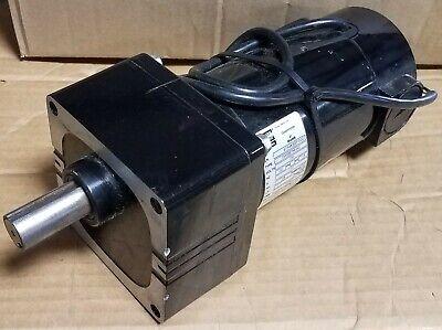 New Bodine Gear Motor  33a5bepm-w3 130 Volt Dc 18 Hp 43.91 Ratio