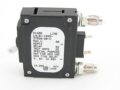 Airpax 20 Amp Circuit Breaker Lmlb1-1rs5-37568-20