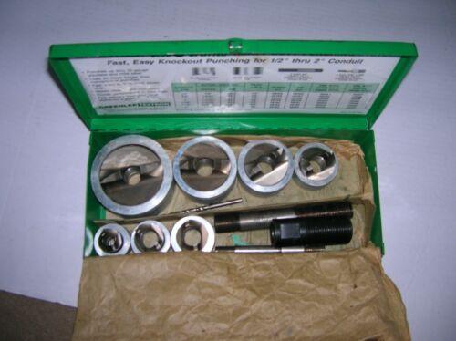 Greenlee Slug Splitter SET 7307 Set  s1