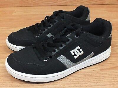 Genuine DC Spartan Sport Low SE Black Men's Size 8 Skater Casual Shoes **READ** - Dc Spartan Low Shoes