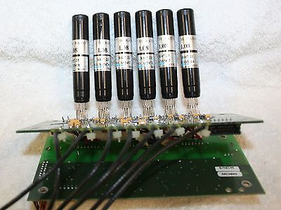6 Of Hamamatsu R647-23 Photomultiplier Tube Soldered To Circuit Board