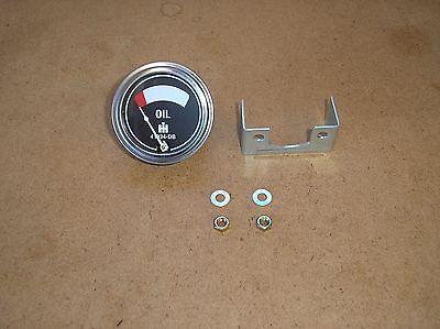 Ih Farmall H Sh M Mta W4 W6 W9 New Oil Pressure Gauge  17-20-332