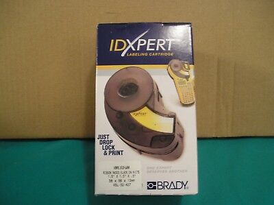 Brady Idxpert Xsl-32-427 Black On White 1.5 X 1.5 X .5 Vinyl Self Laminating
