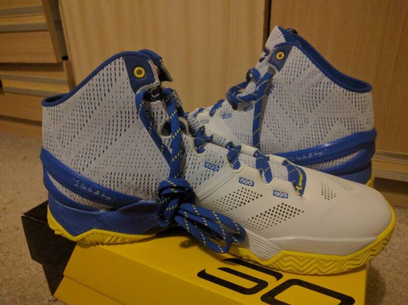 premium selection 01875 63840 Under Armour Curry 2 'Dub Nation Home' Size 11.5 US ...