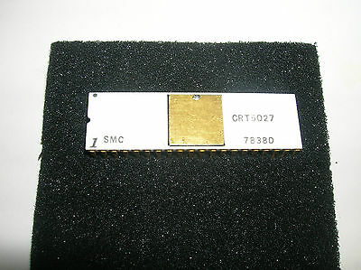 Vintage Smc 1978 Crt5027 Gold Ceramic Crt Timer Controller Collectable Rare Ic