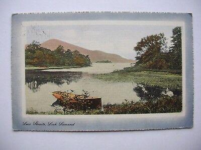 Loch Lomond at Luss. Near Balloch, Tarbet etc. (1914 - Valentine)