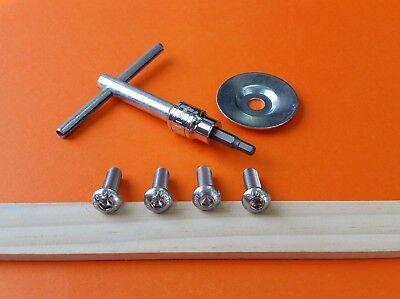 Parts For Clarke Se 7 Ce 7 Floor Sander Edger Parts Paper Screws Wrench Washer