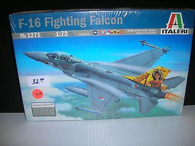 ITALERI 1271 NATO F16B/A 1/72 list $ 32.00 lot 5022