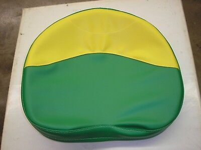 John Deere Oliver Tractor New Green Yellow Vinyl Seat Cover 19-7-32