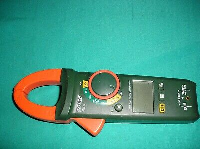 Extech Ma445 Trms Acdc Clamp Meter 600v 400a Type-k Temp Input Ncv