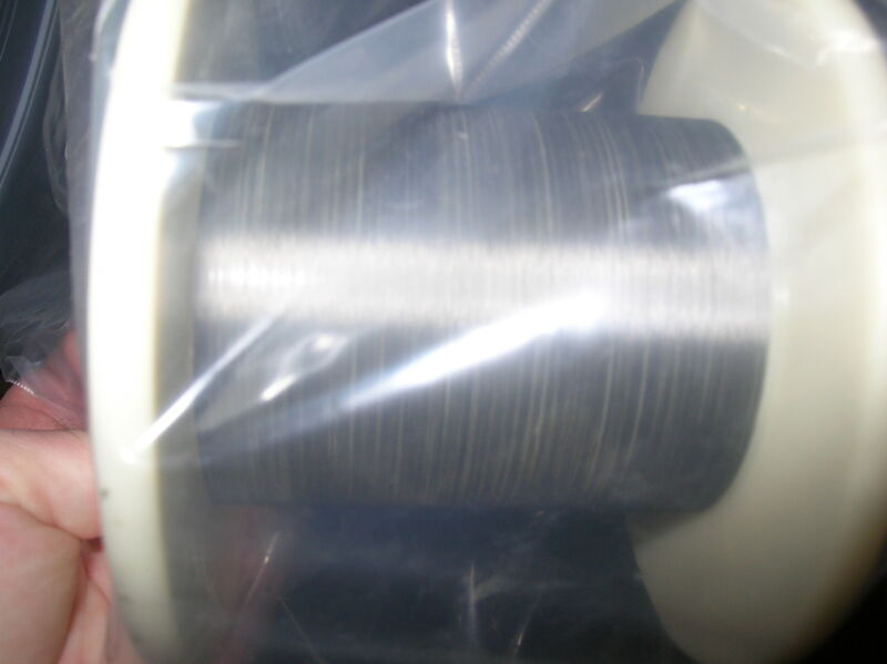 """Tungsten rhenium 97/3 wire sold BY THE FOOT 0.0012"""" dia"""