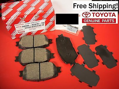 2002 through 2006 Toyota Camry OEM Front Ceramic Brake Pads Priority Shipping!!