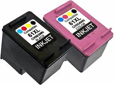 2 Black Color Hy Compatible Ink For Deskjet 1000 1050 3054 3050 Old Generation