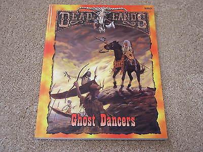 Pinnacle Entertainment Deadlands Ghost Dancers Sourcebook