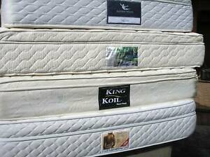 Queen & Double size Pillow Top Plush Mattress in VGC  (can deliver)