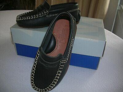 Schuhe, Mokassins navy, Größe 27, f. Kinder, unisex Unisex Navy Schuhe