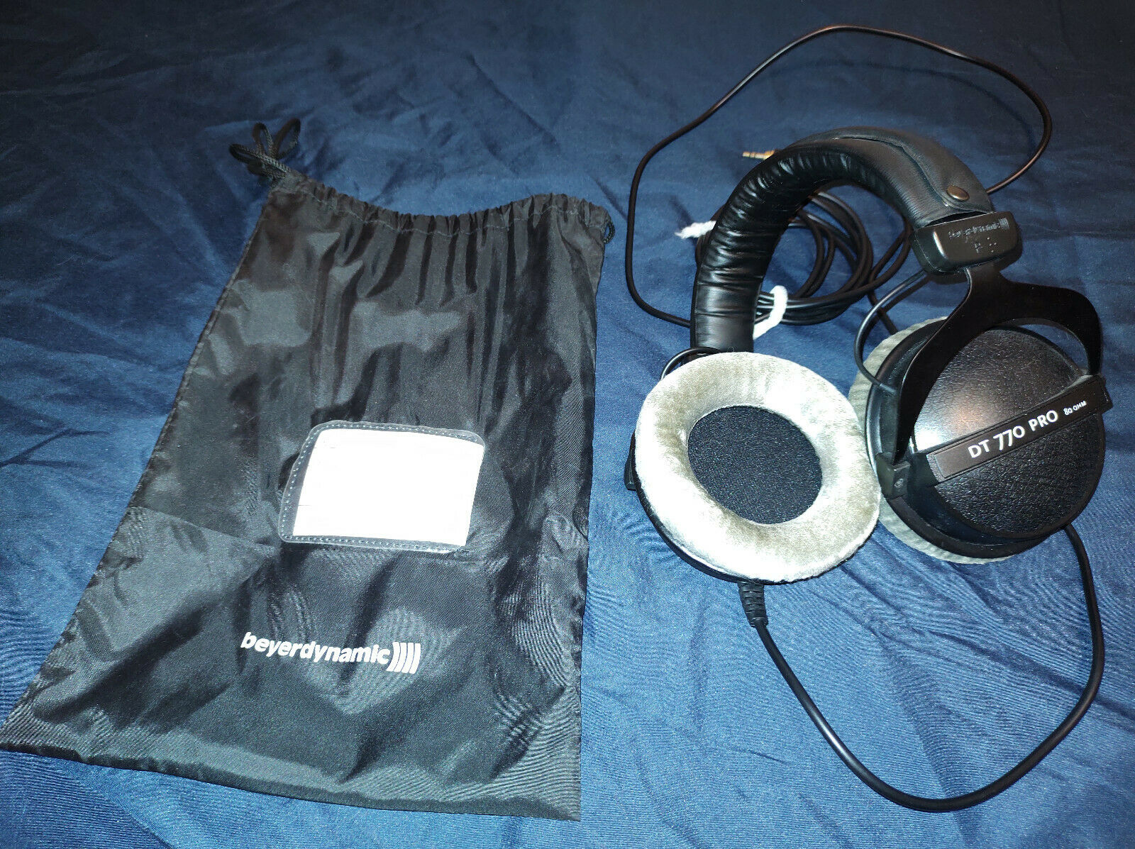 Beyerdynamic DT 770 Pro 80 Ohms Closed Studio Headphones Gently Used FREE SHIP - $100.00
