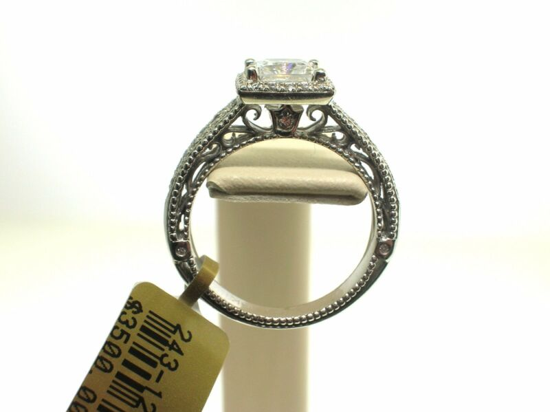 Verragio 18k Venetian 5007p-4 Mount 0.30ctw Diamonds -size 6.25 Us -retail$3500