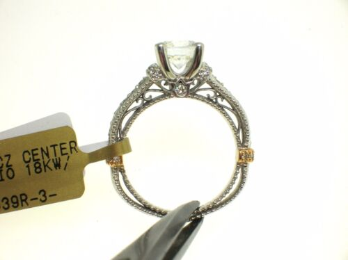 VERRAGIO 18K VENETIAN AFN-5039R SETTING 0.30CT DIAMONDS-SIZE 6.5US -RETAIL$4050