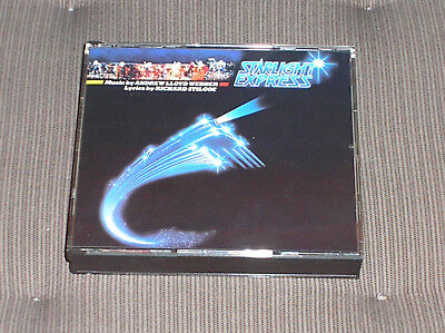 Starlight Express '84 France Polydor PMDC 2 CD Fatboy NM PP Arnold