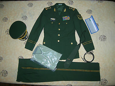 Obsolete 15's series China Armed Police Force 3 Stars Man General Uniform,Set