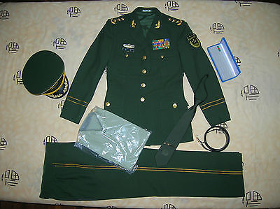 Obsolete 16's series China Armed Police Force 3 Stars Man General Uniform,Set