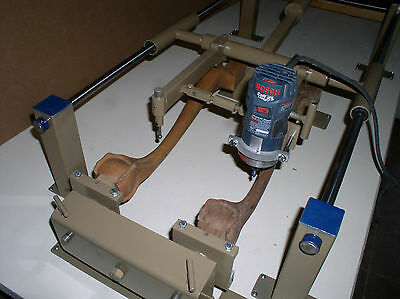 Wood Carving Machine-chair Legs Gunstocks Millwork Guitar Necks Anything
