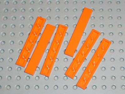 6 x tile Orange LEGO ref 6636 / set 75880 70348 42056 60097 10233 4434 8158 4210 usato  Spedire a Italy
