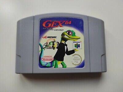 GEX 64 Enter the Gecko - N64 - Spiel Modul - Nintendo 64 - sehr guter Zustand