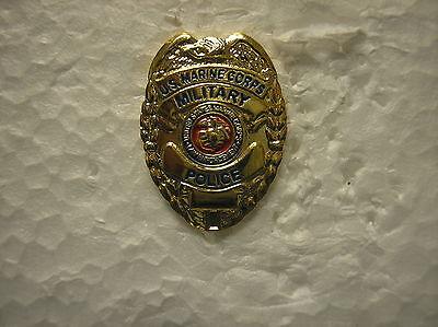 MARINE HAT PIN - MINIATURE U. S. MARINE MILITARY POLICE SHIELD