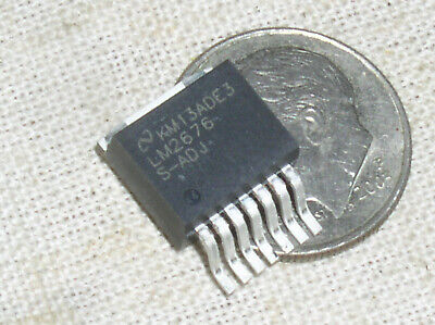 New National Lm2676s-adj Lm2676 3a Positive Voltage Switching Regulator Usa