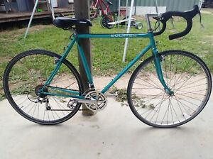 Vintage Handmade Steel Frame Road Bike