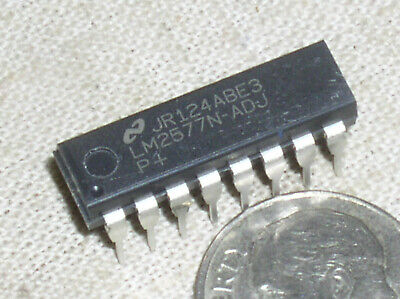 1 National Lm2577n Simple Switcher Step Up Converter Power Supply Ic Dip-16 Usa