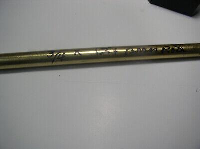 34 Brass Rod 12 Drift Punch New Brass Drop 360 34 Diameter Brass Rod