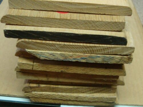"""5"""" Unfinished Solid Oak Baseboard 15 Pieces 130+"""